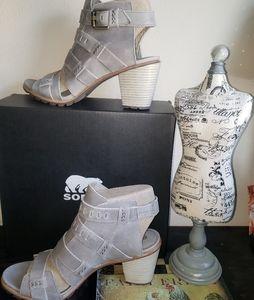 👡NWT/NIB Sorel Nadia Heeled Sandal SZ11